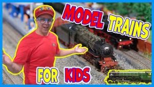 Matty Crayons Model Trains | Trains For Kids