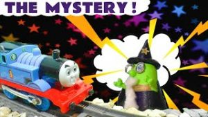 MYSTERY Thomas and Friends Toy Trains Story with Funlings Wizard Funling
