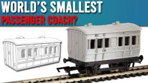 Building The World's Smallest Model Train Coach? | 3D Printing