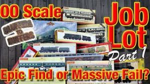 OO Scale Model Railway Facebook Job Lot Unboxed – Epic Find or Massive Fail? Part 1.