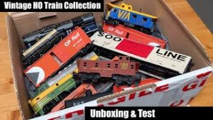 Vintage HO Train Collection Unboxing & Test
