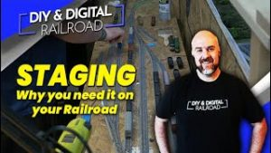 Why You Need Staging On Your Model Railroad: Coffee and Trains Episode 22