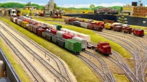 Beautiful Private Model Railroad HO Scale Train Layout at the East Texas Model Railroad Club Part 2