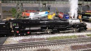 Lionel's O Scale Big Boy First Run Edition Steam Locomotive Smokin' Whistle and Sound! 4-8-8-4!