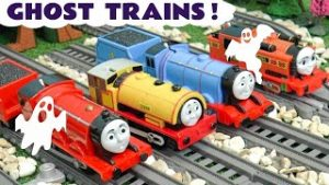 Thomas and Friends Trackmaster Ghost Trains – MYSTERY Toy Train Stories with the Funlings