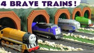 4 Thomas and Friends Brave Train Toy Trains Stories