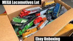MEGA Lot Of Vintage Ebay Locomotives – Let's See What We Got!