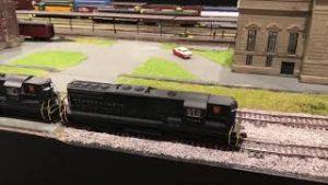 Kit's 12'x20′ HO railroad.