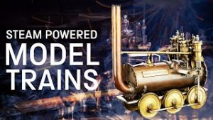 Meet some of the world's oldest steam-powered model trains I Brass, Steel and Fire