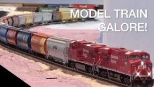4 Minutes Of Model Train Galore!