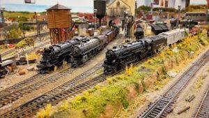 Beautiful Model Railroad HO Scale Gauge Train Layout at The Grand Strand Model Railroaders Club