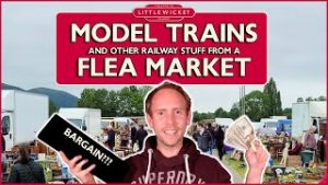 Buying Model Trains and Other Railway Stuff from a Flea Market