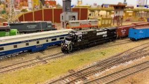 HO Scale Model Trains at The ORLANDO SOCIETY OF MODEL RAILROADERS