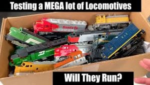 Testing a MEGA Lot of Vintage Locomotives – Will They Run?