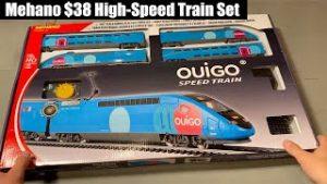 Mehano $38 High-Speed HO Train Set – Unboxing & Running