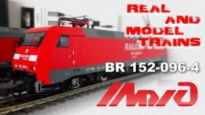ROCO br152  from MIZHD collection // REAL AND MODEL TRAINS