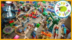 Thomas and Friends MASSIVE TRACK TOUR! Fun Toy Trains !