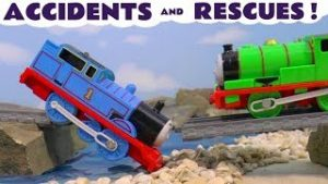 Thomas & Friends Toy Trains Accidents and Rescues – Train Toy Stories for kids Tom Moss TT4U