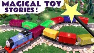 Learn Colors Magical Toy Stories with Thomas and Friends Toy Trains TT4U