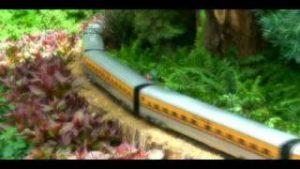 G scale Model Railroad in Bellagio hotel