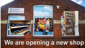 We are opening a model railway shop