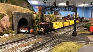 Running Trains on a Really Cool model Train Layout! (NLOE) O Scale Club