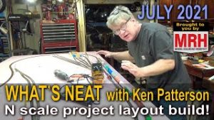 N scale layout build – part 1 | July 2021 WHATS NEAT Model Railroad Hobbyist