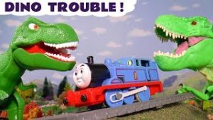 Thomas and Friends Dinosaur Trouble with Monsters In The Tunnel and the funny Funlings