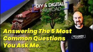 Answering The Most Common Model Railroad Questions You Ask Me: Coffee and Trains Episode 5