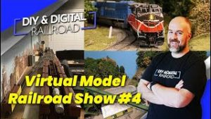 Virtual Model Railroad Show #4: Coffee and Trains Episode 19