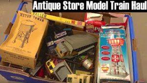 Vintage Model Train Antique Store Haul