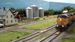 The K & I Model Railroad, HO Layout, Scenes & Cab Ride (Under Construction)