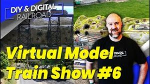 Virtual Model Train Show #6: Coffee and Trains Episode 28