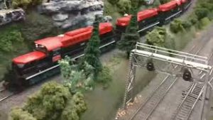 Non Stop Train Action/Unstoppable Movie Part 11. Featuring all model Trains @ different train shows.