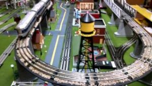 O Scale Model Train Layout built for a customer
