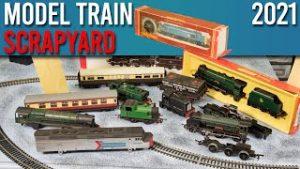The Sam'sTrains Model Train Scrapyard | 2021