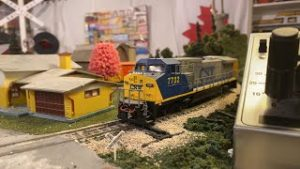 Running Ho Scale Model Trains Live