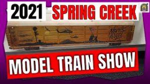 Spring Creek Model Train Show 2021 – DaBob's ManCave????