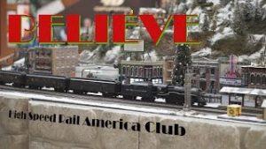"Christmas Trains ""Believe"" Polar Express – Aventura Mall Model Train Display"