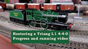 Triang L1 Restored. Vintage OO model Railway locomotive