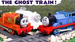 Toy Trains Thomas and Friends Ghost Train Story with the Funlings