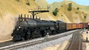 NON STOP HO Scale Model Trains Ep.26   UP Big Boy 4014, SP and more!  4K 