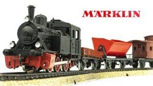 Vintage Marklin HO-Scale 2935 Electric Model Train Set Unboxing & Review