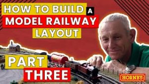 How To Build A Model Railway Layout – Laying The Track