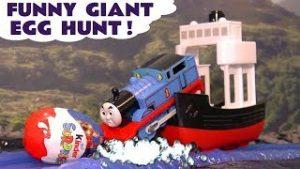 Toy Trains 4u Thomas & Friends Big World Big Adventures Egg Hunt