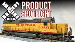 HO Scale EMD SD40T-2 Tunnel Motor Scaletrains.com Rivet Counter Product Spotlight