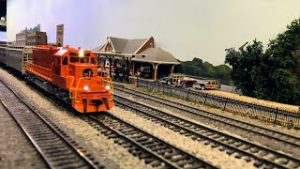 Model Train Monday