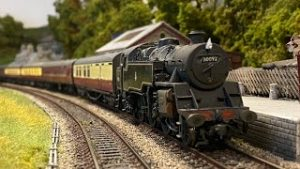 A Busy Day on the Yorkshire Dales Model Railway