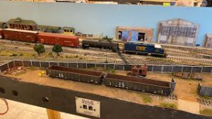 HO Scale Model Trains – CSX Downtown Spur Style Operations!