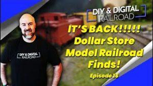 Dollar Store Model Railroad Finds: Episode 16